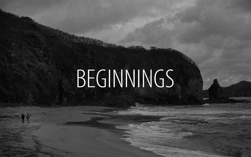 """Beginnings "" / Beginnings a film by Mladen Kovacevic"